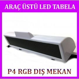 P4 ARAÇ ÜSTÜ RGB LED TABELA