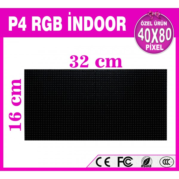 P4 RGB LED PANEL 16X32 cm