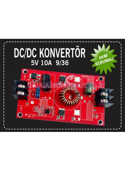 DC/DC  9/36 5V 10A