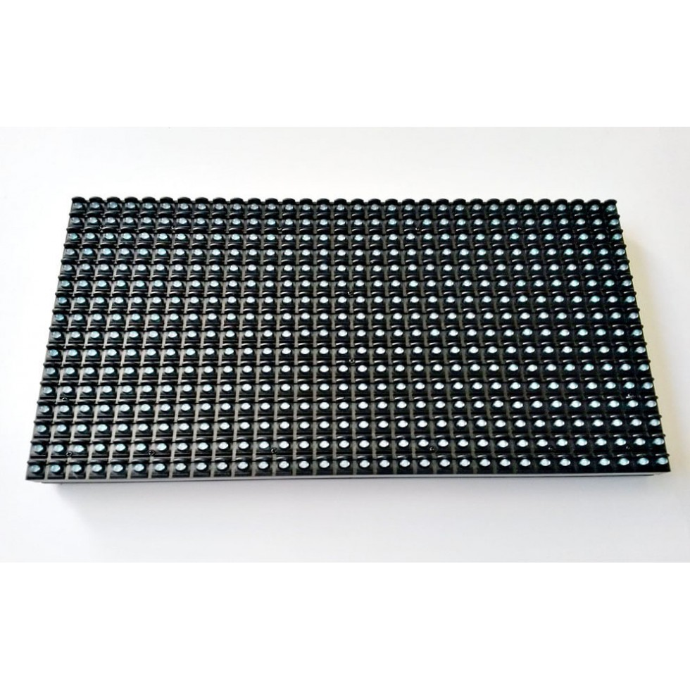 p10 grafik led panel mavi 16x32