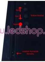Güzergah Tabelası P6 Cob led Kırmızı