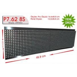 P7,62 8S dip led beyaz 16x64